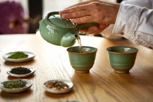 Листовые чаи и японская чайная церемония листовых чаёв Сэнтядо