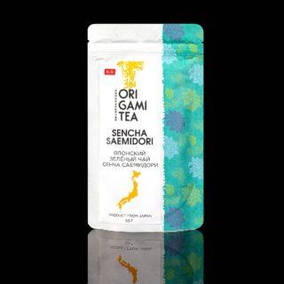 Sencha-Saemidori-Origami-tea