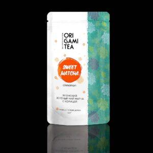 Sweet-Matcha-Cinnamon-Origami-tea-50g