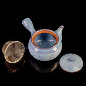 """Чайник кюсу голубой """"Пробуждение"""", 450 мл."""