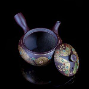 """Чайник кюсу коричневый """"Восточная сказка"""""""
