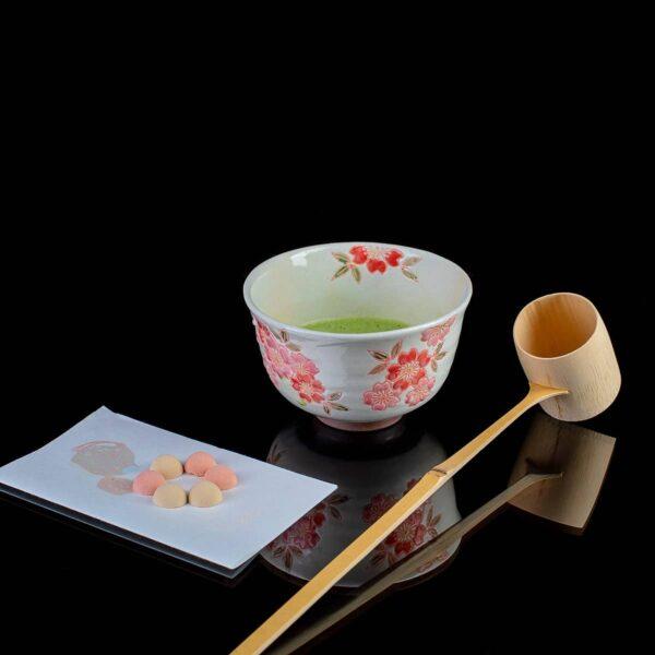 Чаша для матча Весенняя сакура